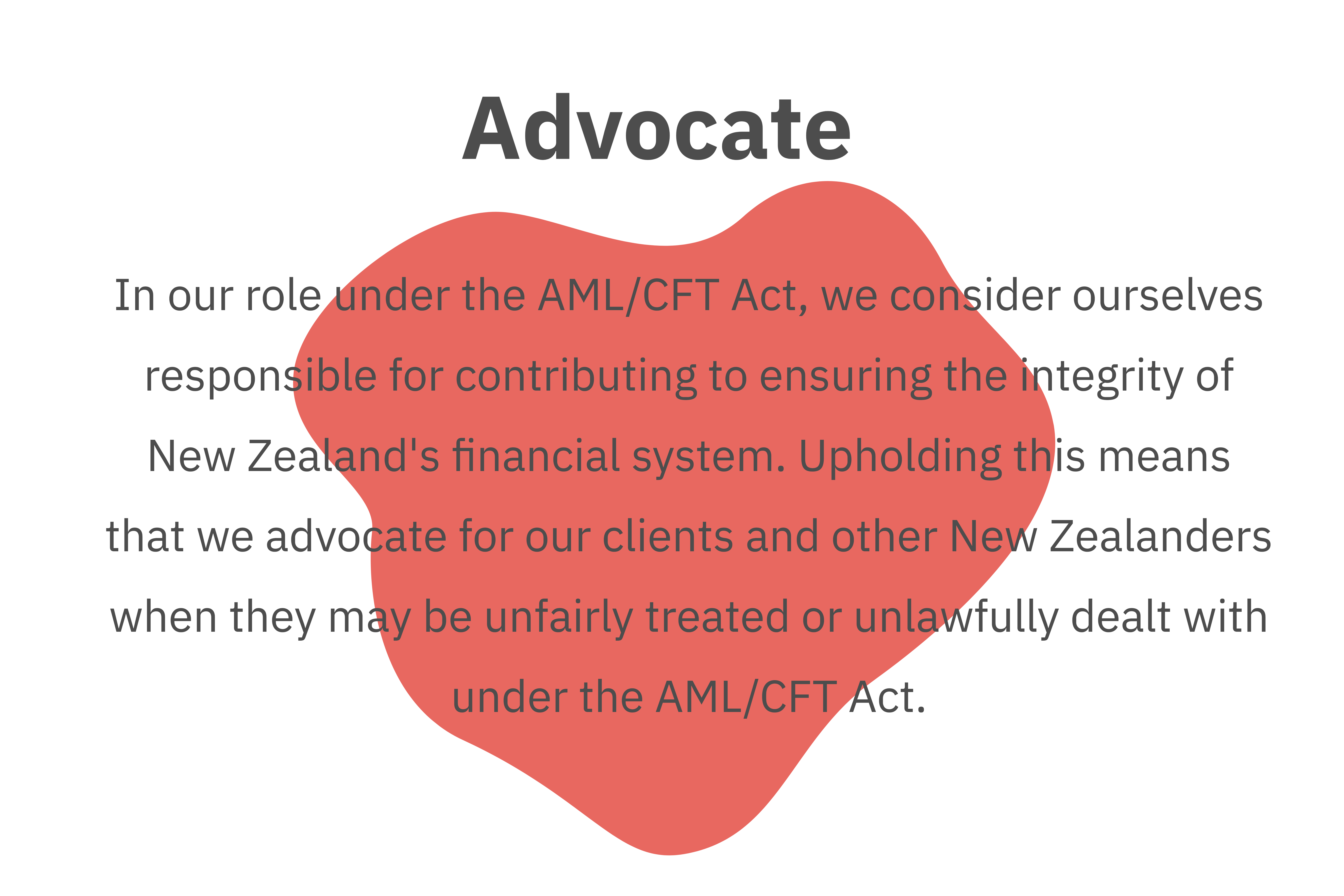 AML audit audits consultancy training advocacy nz